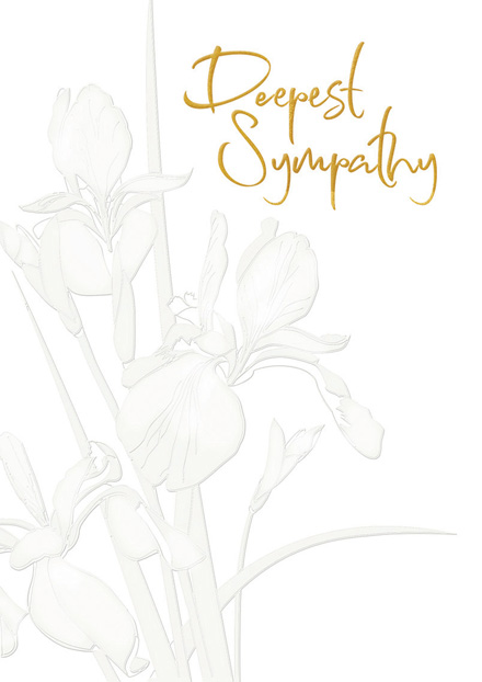 A Beautiful Life Sympathy Cards